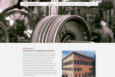 Presentato il nuovo sito web di Fondazione Ansaldo