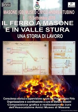 Il ferro a Masone e in valle Stura