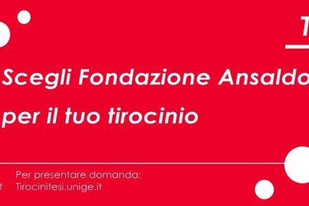 Tirocini in Fondazione Ansaldo